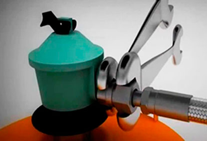 instalación gas butano