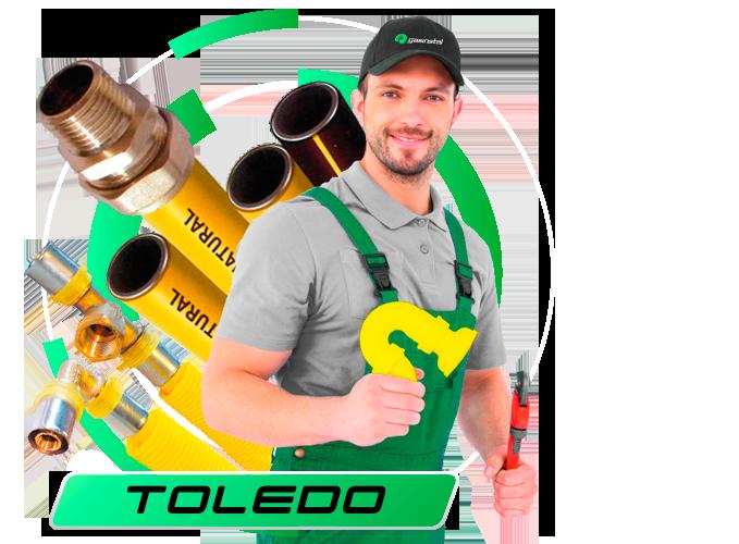 Instaladores gas natural en Toledo