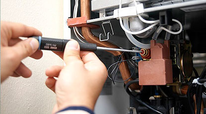 Reparación de calderas de gas