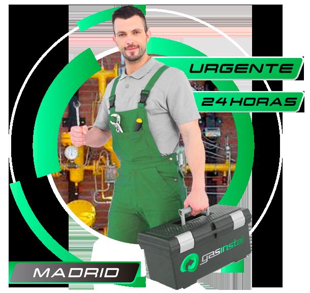 Reparación de instalación de gas natural en Madrid