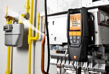 reparación de fugas en calderas de gas natural en Madrid