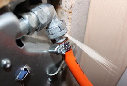 reparación de fugas en cocinas de gas en madrid