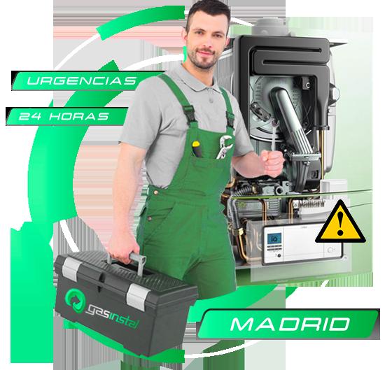 reparación de calderas en Madrid