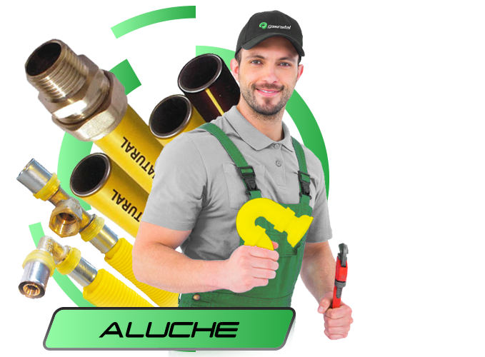instalador de gas natural en Aluche