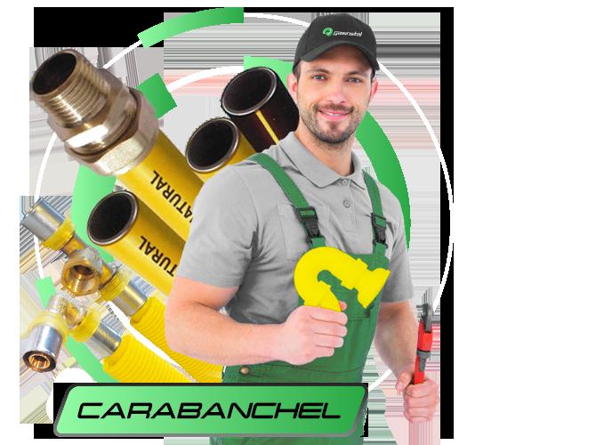 instalador de gas natural en Carabanchel