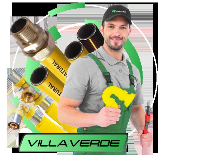 Instalador de Gas Natural en Villaverde