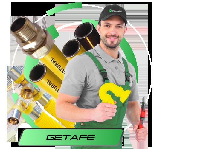 Instalador de gas natural en Getafe
