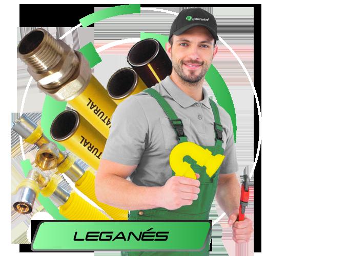 Instalador de gas natural en Leganés