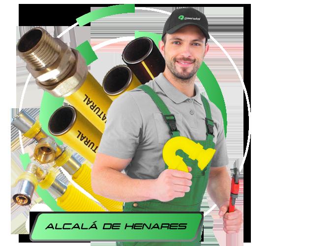 Instalador de Gas Natural en Alcalá de Henares